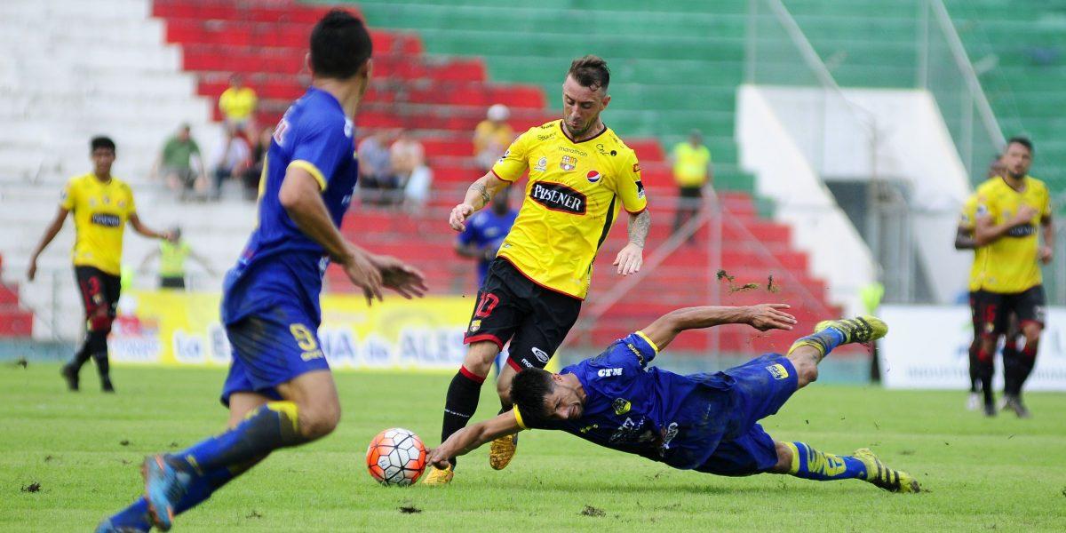 Delfín ganó 1-0 a Barcelona en el estadio Reales Tamarindos
