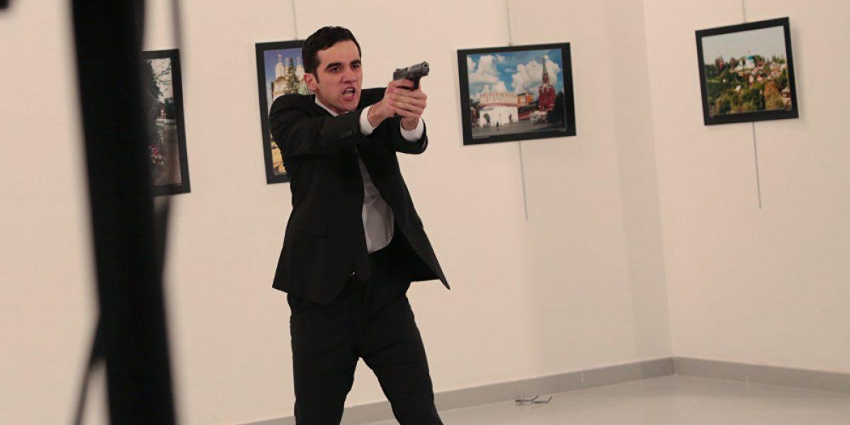 Imagen del asesino de embajador ruso en Turquía gana el World Press Photo