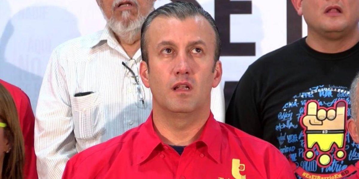 Vicepresidente de Venezuela rechazó sanción de Estados Unidos