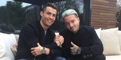 Video de J Balvin y Cristiano Ronaldo se vuelve viral