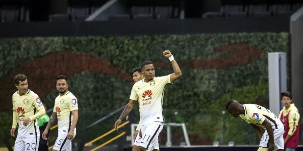 América gana con gol de Michael Arroyo
