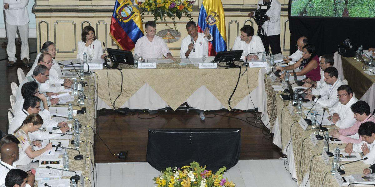 Santos no tiene lista de beneficiados por Odebrecht en Colombia, dice Correa