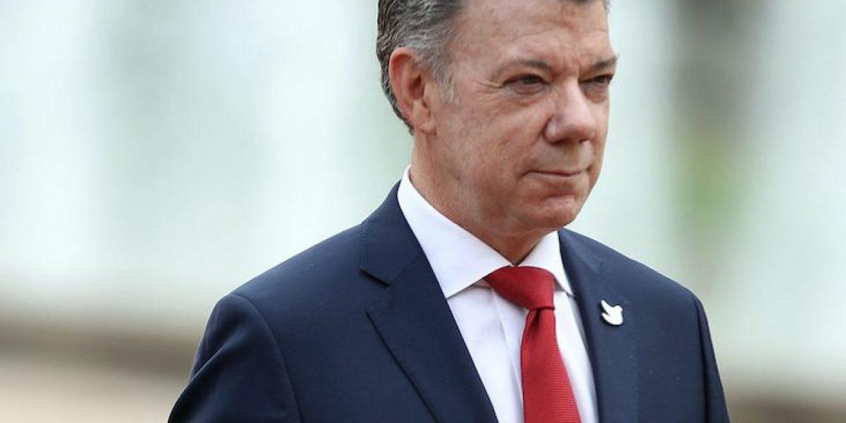 Abren indagación preliminar contra Santos por caso Odebrecht