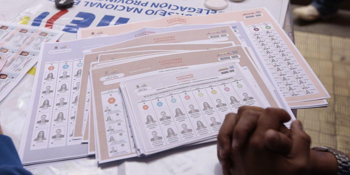 Multas que rigen para elecciones del 19 de febrero en Ecuador