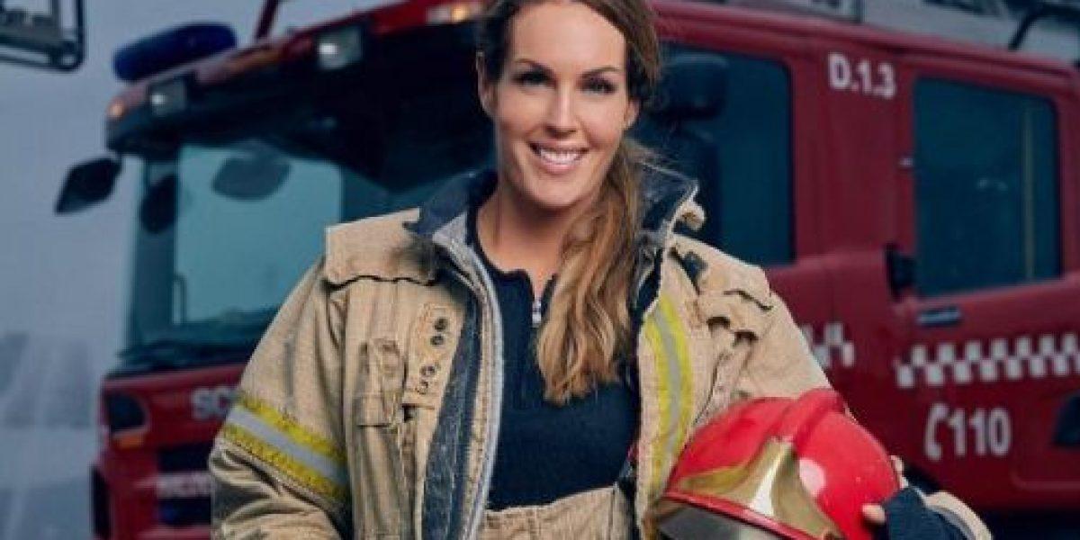 La bombera más atractiva del mundo revoluciona las redes