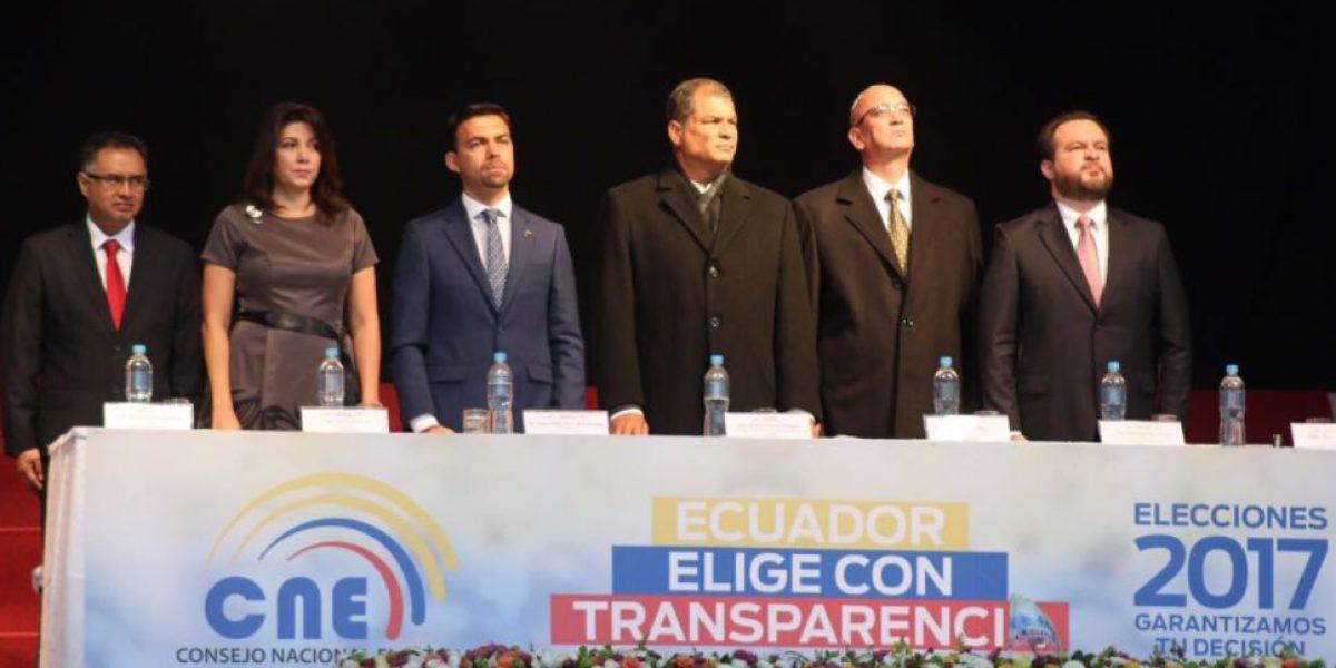 Se inauguró el proceso electoral 2017