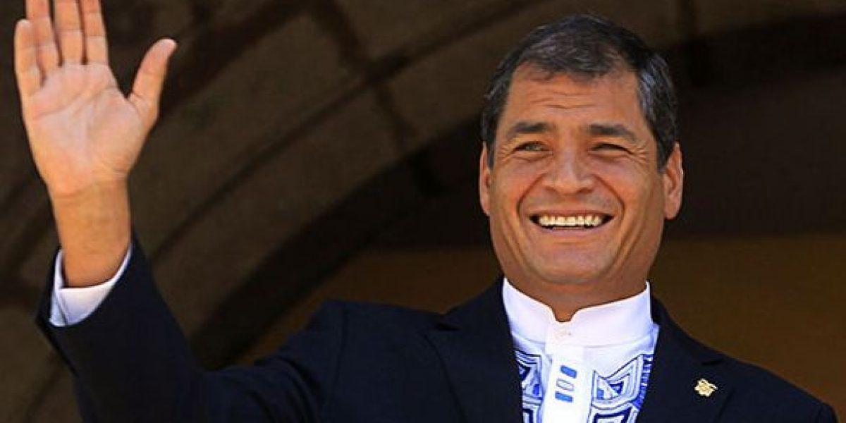 Correa destacó la democracia representada en este proceso electoral
