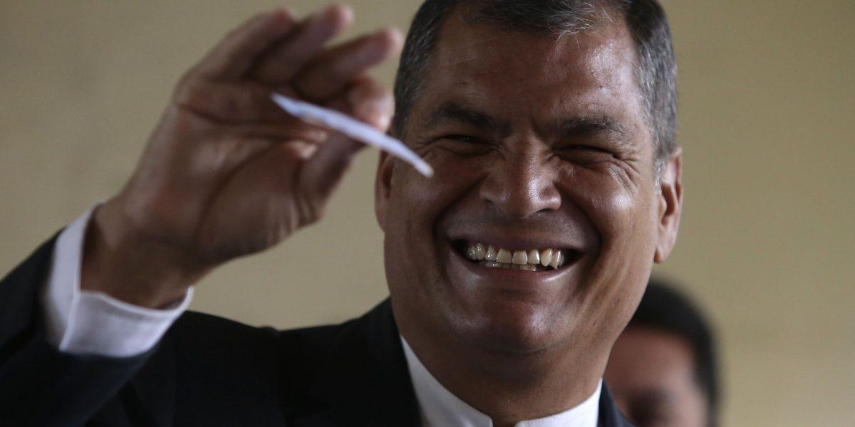 Rafael Correa critica a los veedores no oficiales