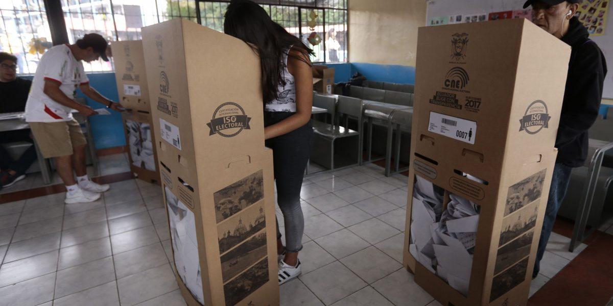 Votaciones en Ecuador, un pretexto para lucir la