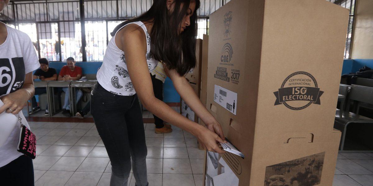 CNE publica datos de conteo rápido de Elecciones 2017