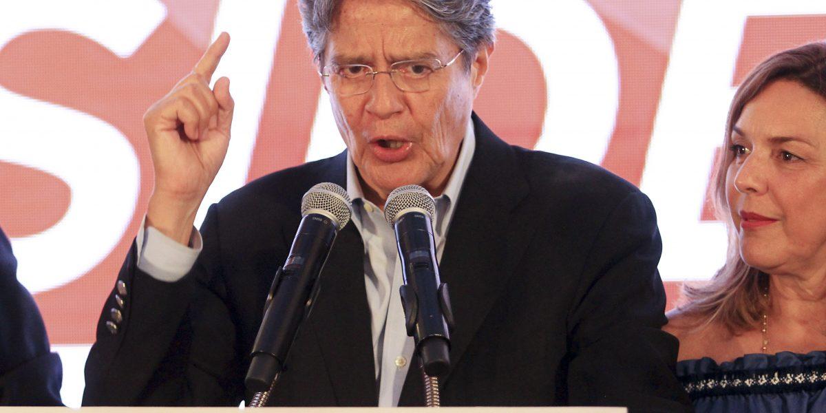 Guillermo Lasso se pronuncia