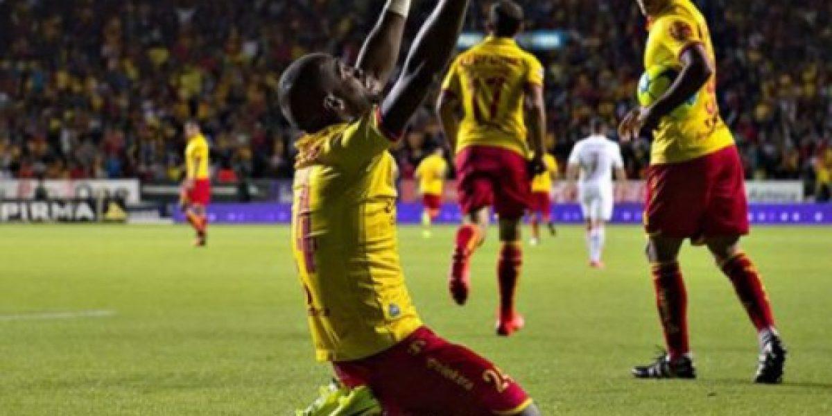 Gabriel Achilier le dedicó un gol a su esposa