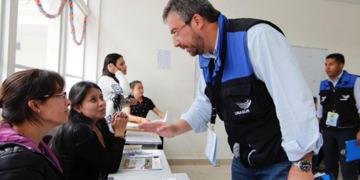 Observadores electorales no registraron inconvenientes