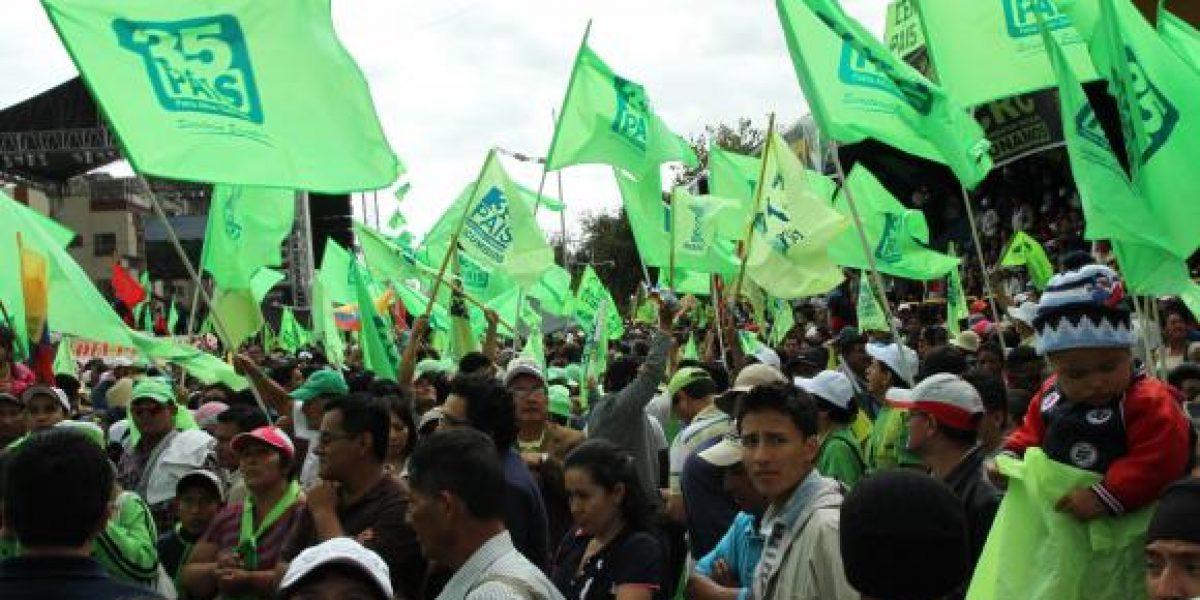 Alianza PAIS al frente de las preferencias para Asambleístas