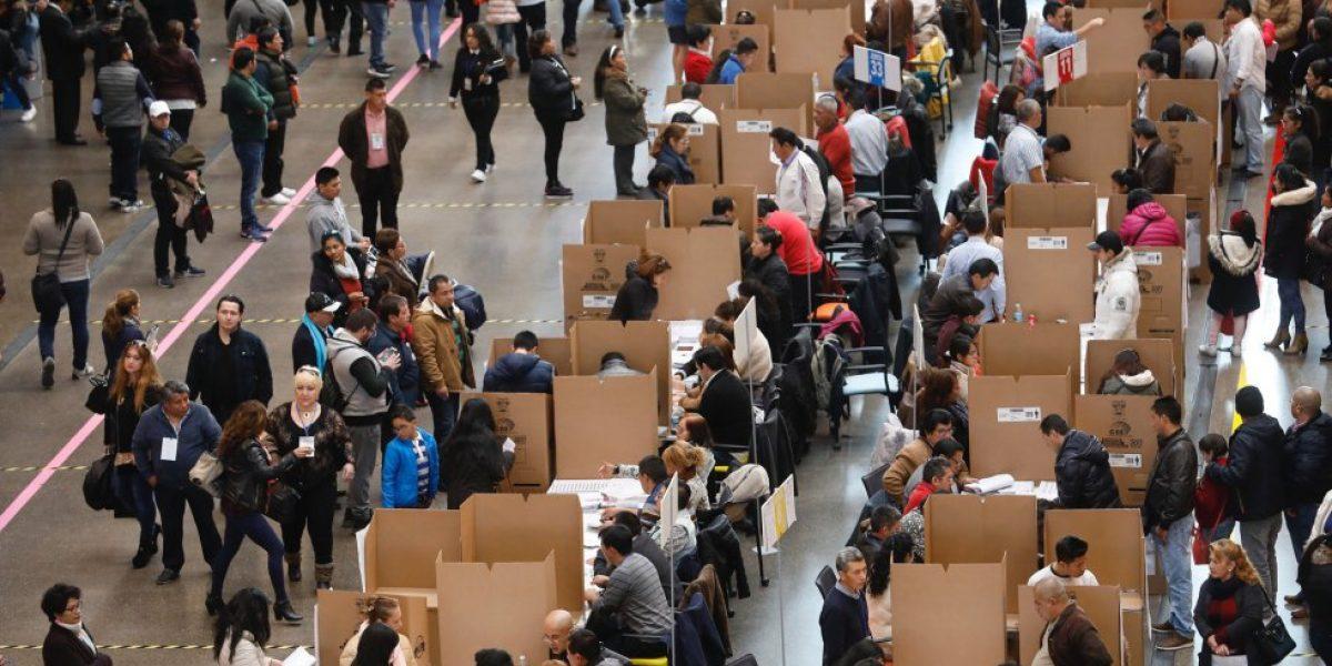 Ecuatorianos se autoconvocan en Madrid, España