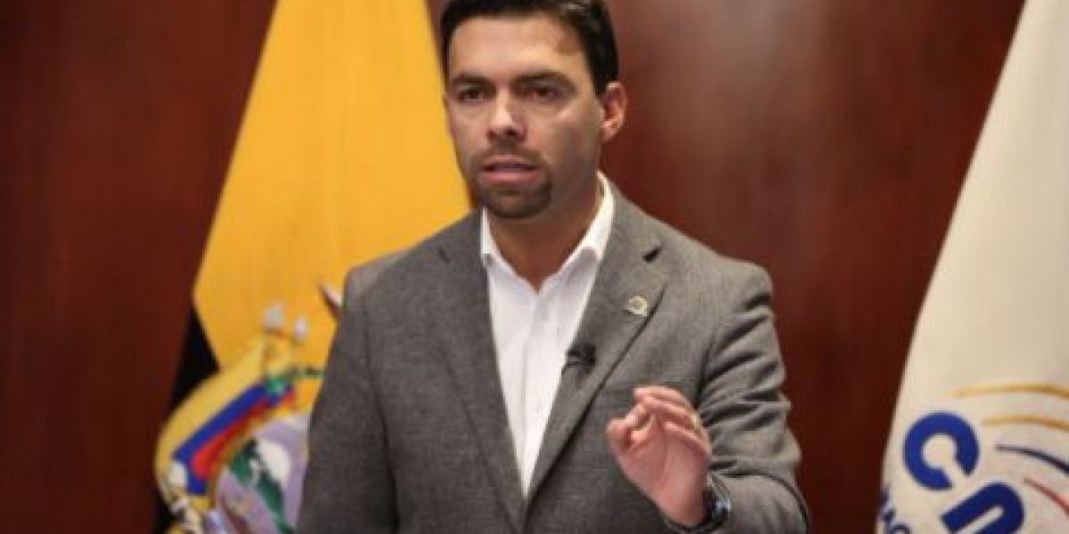Juan Pablo Pozo confirmó segunda vuelta con 99.5%