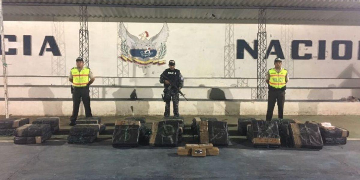 Policía Nacional incautó 770 kilos de cocaína