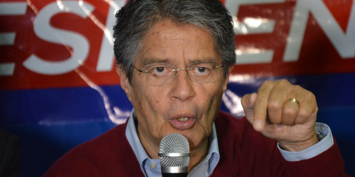 Guillermo Lasso dice que en segunda vuelta de elecciones resurgirá Ecuador