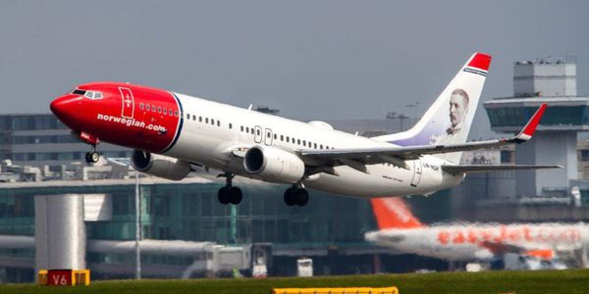 Norwegian Air ofrece vuelos sin escalas entre EEUU y Europa por 65 dólares