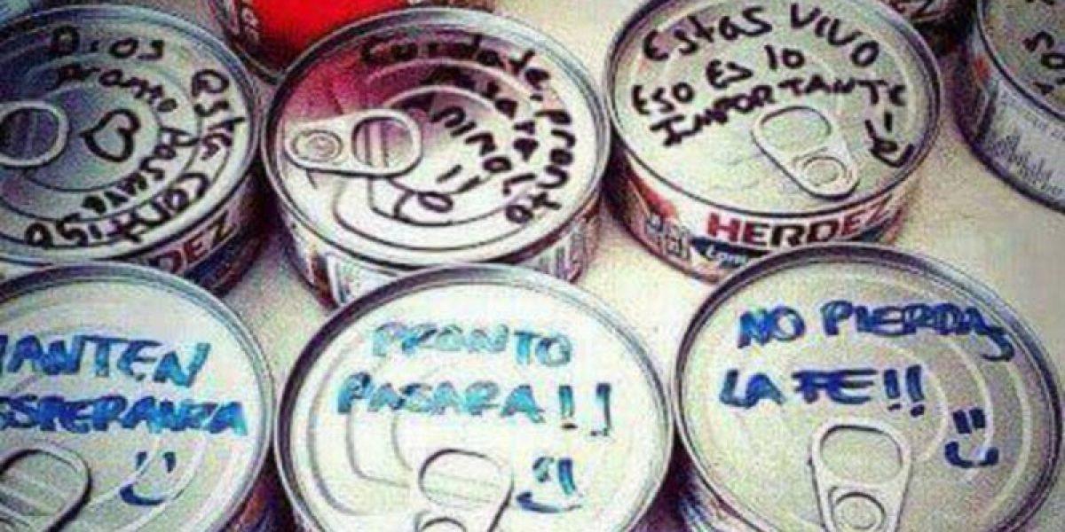 Jóvenes se autoconvocan para devolver las latas de atún donadas a Manabí