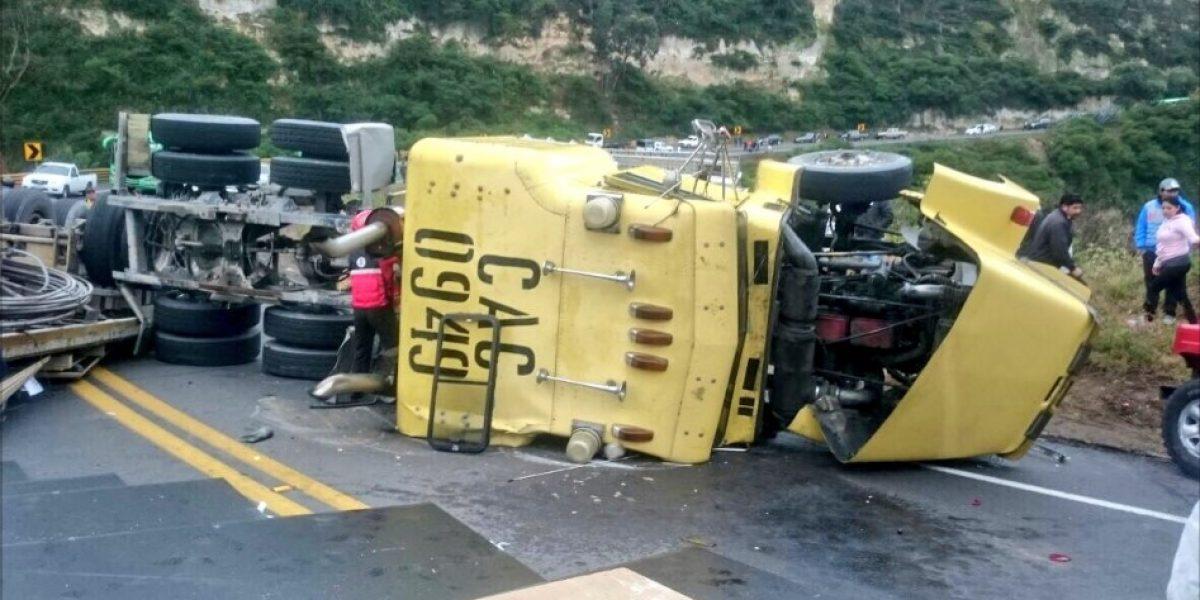 Varios accidentes se reportaron en Quito este fin de semana