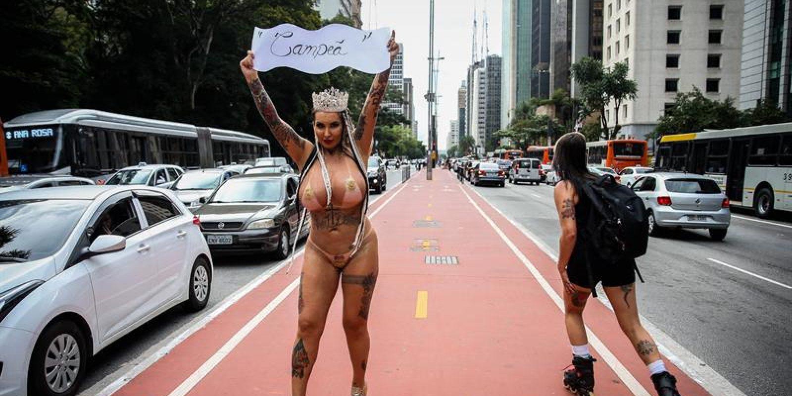Protestas en la calle contra la industria porno 9