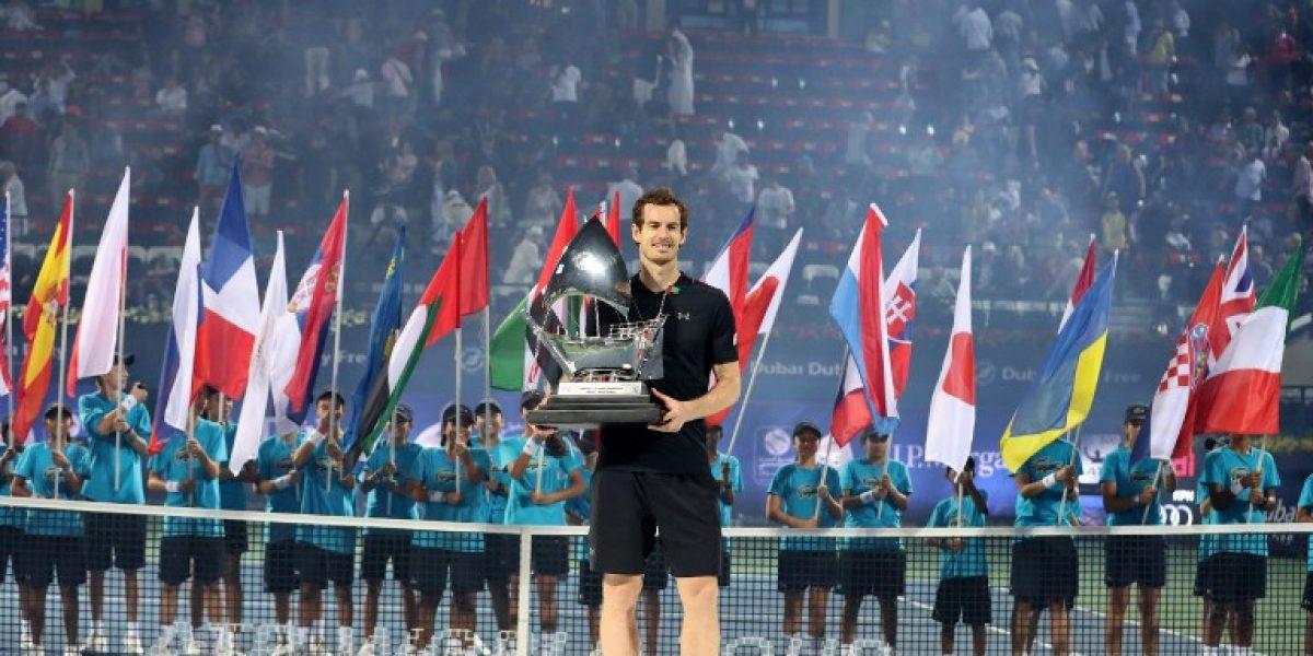Andy Murray gana su primer título del 2017 en el ATP de Dubai