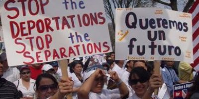Habilitan cuartos para acoger inmigrantes sin papeles en EEUU