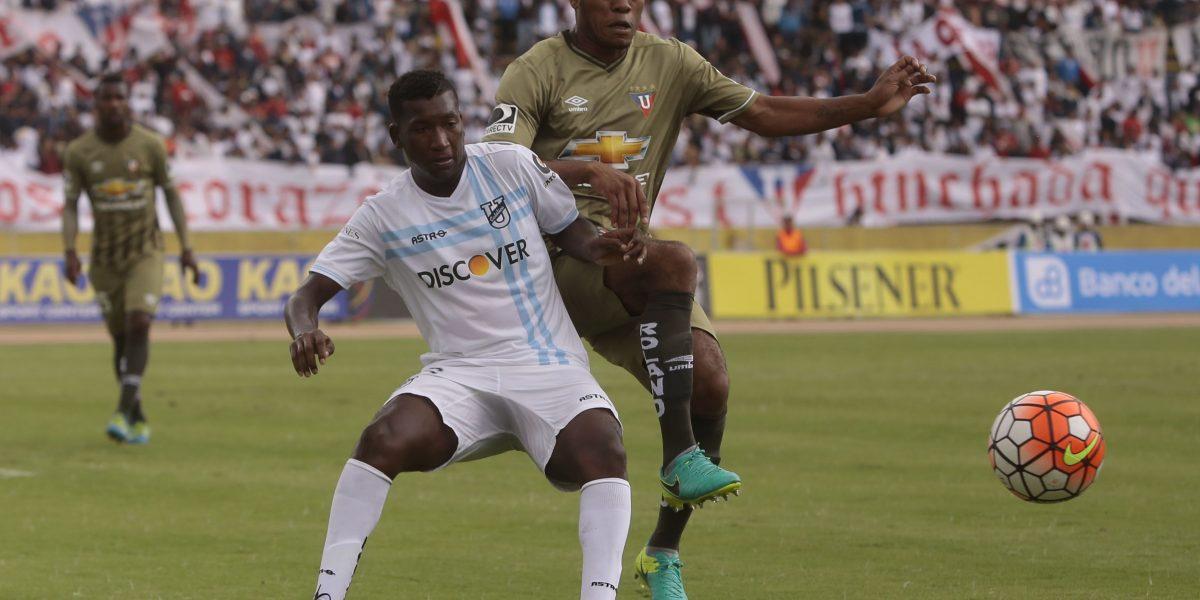 Universidad Católica ganó 3-0 a Liga de Quito