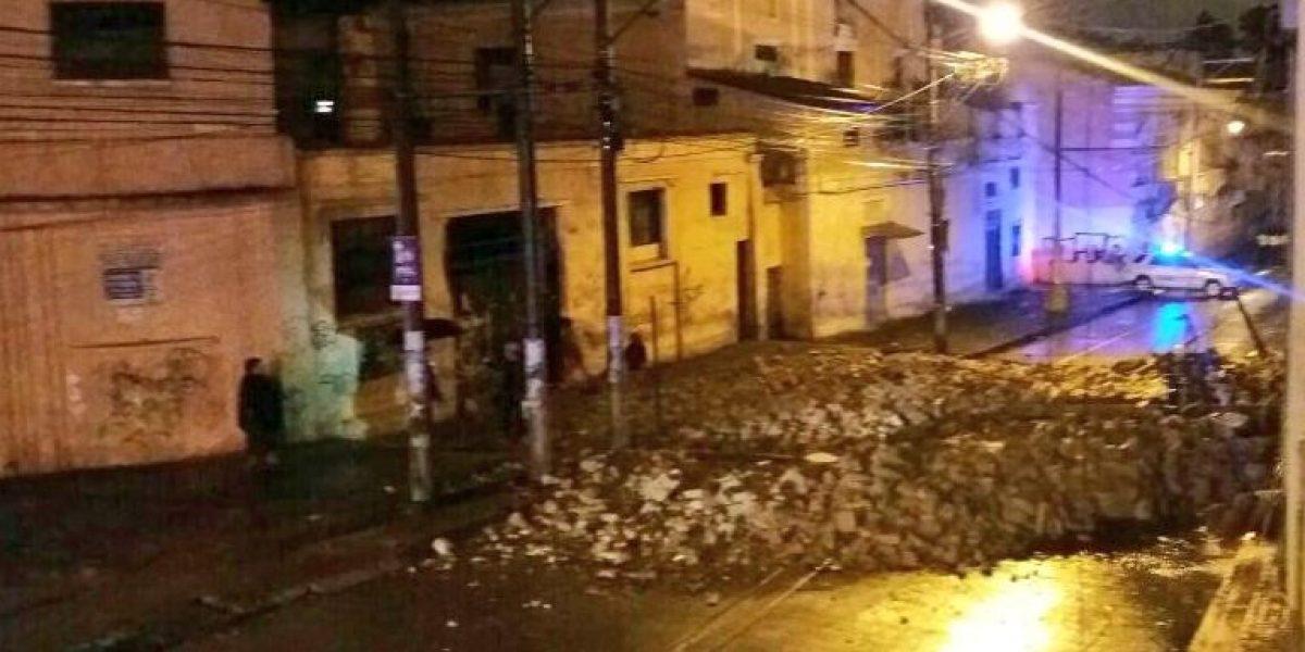 Intensas lluvias siguen causando estragos