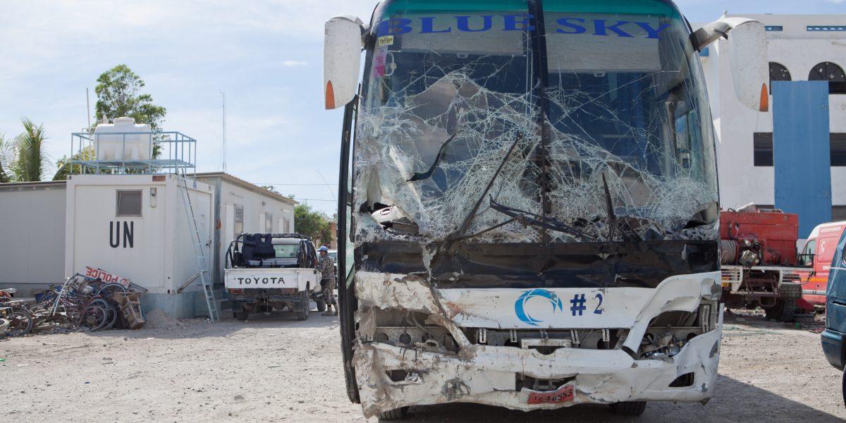 Un autobús causa al menos 38 muertos en Haití