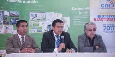 Instituto Geográfico Militar anuncia mecanismos de seguridad en las papeletas electorales