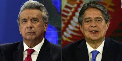 Sondeo da ventaja a candidato Moreno en elecciones de Ecuador