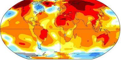 2016 batió todos los récords de temperatura