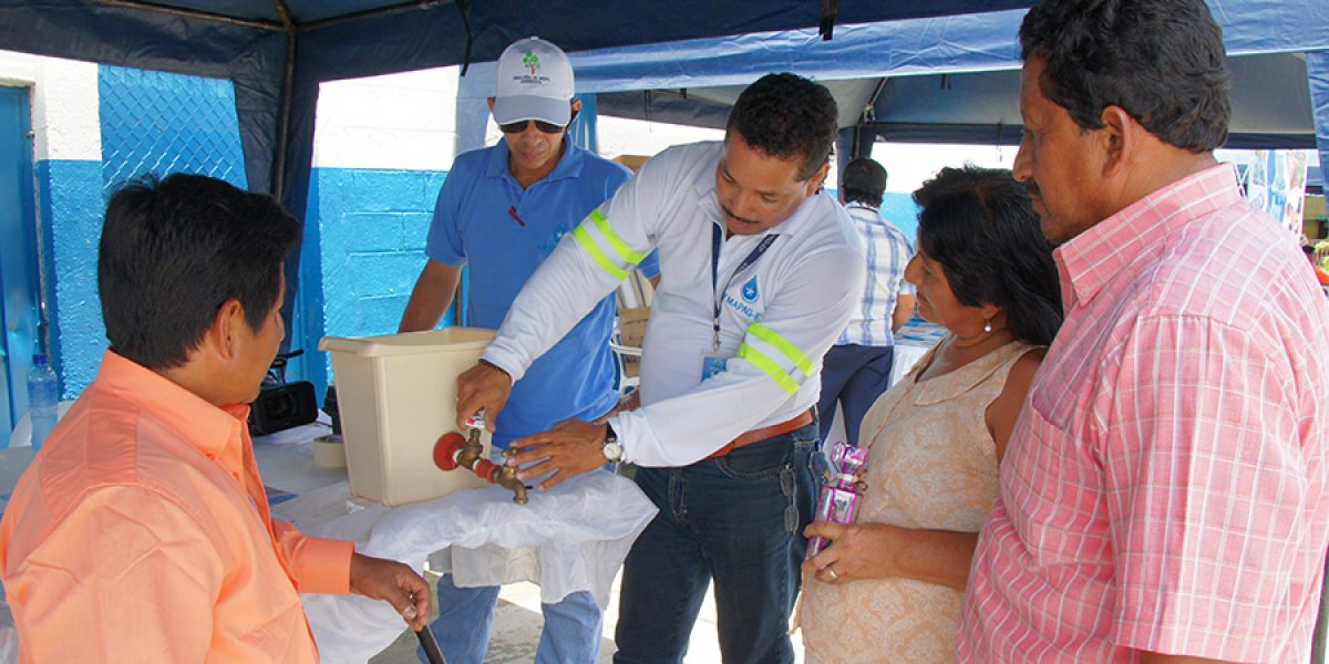 cuidado agua guayaquil emapag