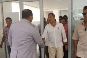 Rafael Correa inaugura hospital en Esmeraldas
