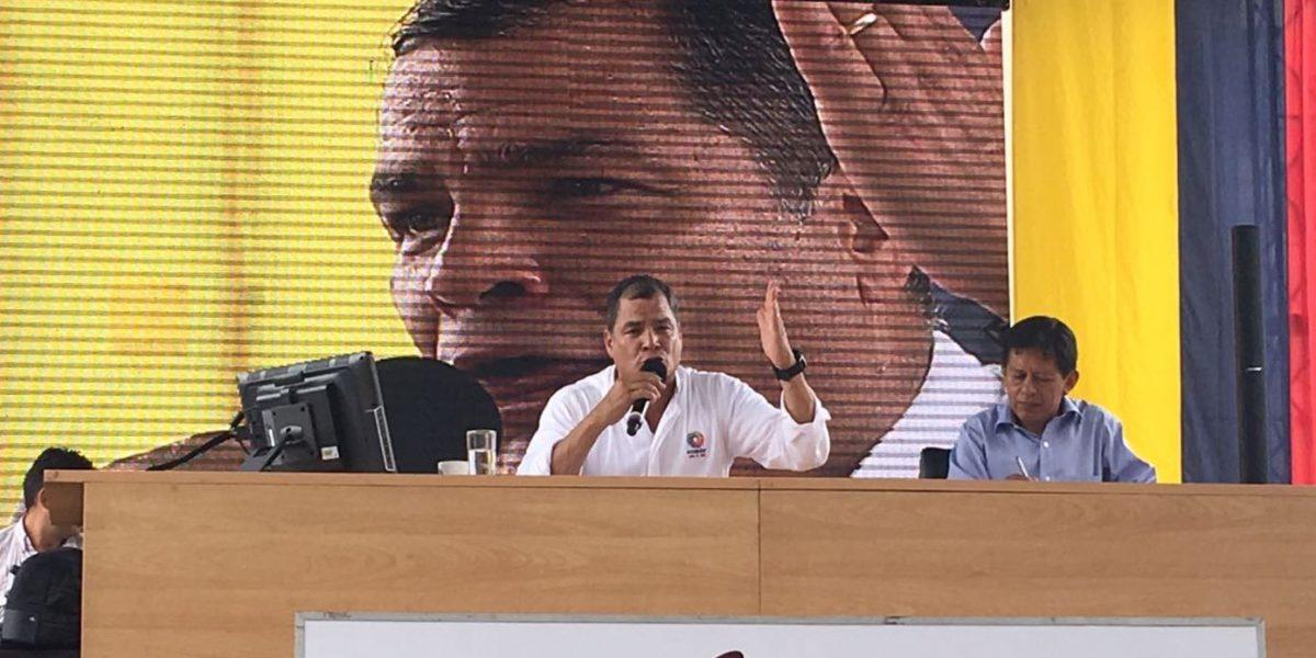 Correa: El único fraude son Cedatos y Participación Ciudadana