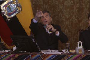 Rafael Correa: Lo de CREO es un Re CUENTO