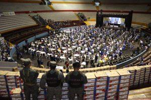 Se inició el reconteo del CNE en el Rumiñahui