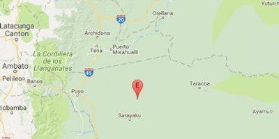 Un sismo de magnitud 62 se siente en la Amazonía peruana
