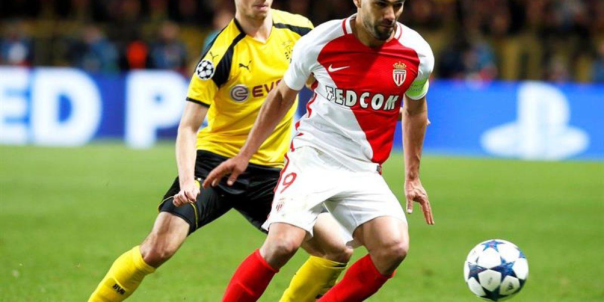 Mónaco es semifinalista y dejó en el camino al Borussia Dortmund