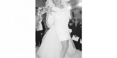 Travesti. El hombre ama la buena ropa. Virgin Brides no duró mucho, pero Sir Richard utilizó un vestido de novia para esta actividad tan especial. Publinews