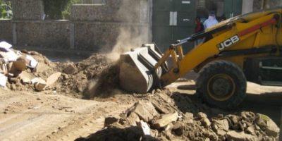 FOTOS. Demuelen casas dañadas en San Marcos