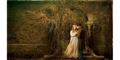 Amanda Seyfried con Eddie Redmayen