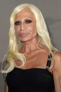 Donatella Versace. Foto: Getty Images