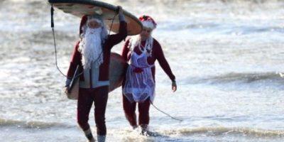 FOTOS: Las llegadas más exóticas de Santa Claus