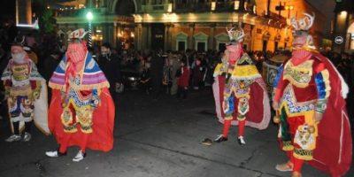 Quetzaltecos celebran la llegada del año nuevo