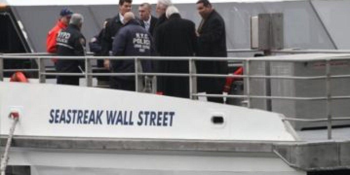 FOTOS. Accidente de ferry causa más de 50 heridos en NY