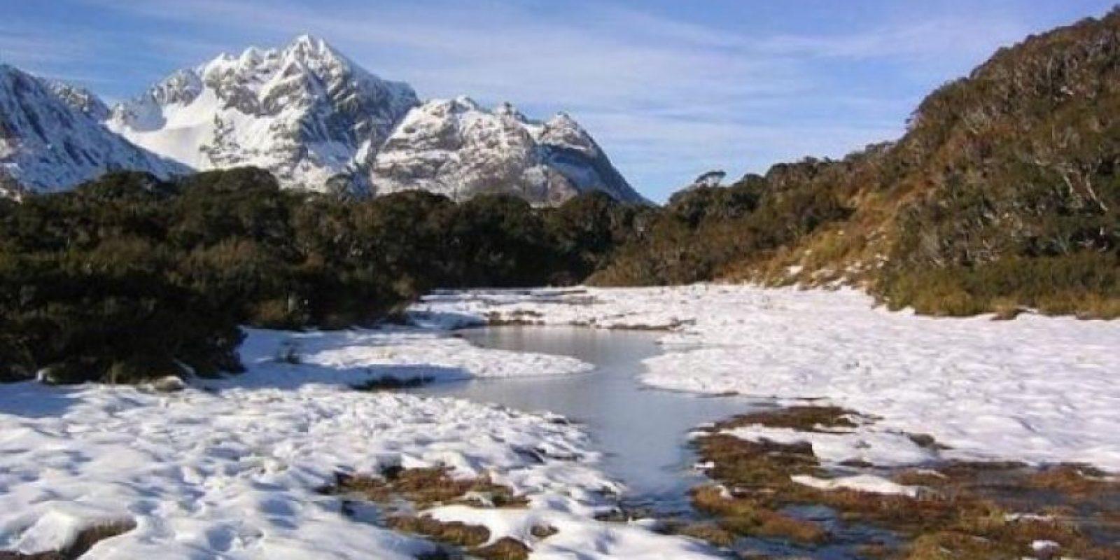 Sendero Routeburn en Nueva Zelanda