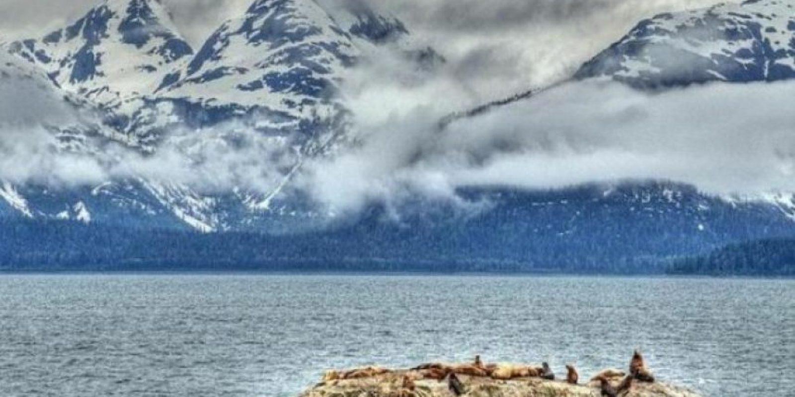 Bahía de los Glaciares en Alaska